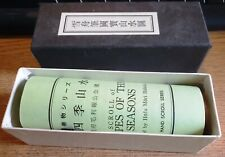 LANDSCAPE OF THE FOUR SEASONS Sesshu Toyo Japanese Buddhist Longer Hand Scroll