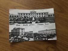 CARTOLINA LECCE SCUOLA A.U.C. CASERMA TRIZIO VIAGGIATA 1960 66