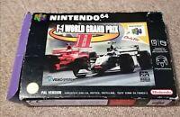 F-1 World Grand Prix II Nintendo 64  Racing Game