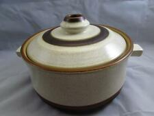 Potter's Wheel Rust Red by Denby-Langley 1 Qt Round Covered Casserole Pot B137