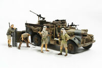 Tamiya 32407 1/35 Military Model Kit British LRDG Command Car Africa w/Figures