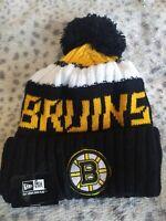Boston Bruins Cap Hat NHL Hockey New Era Beanie
