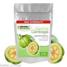 Garcinia Cambogia 1000mg Par capsule Le plus fort en RU