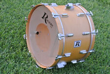 "ADD this RARE 1970's ROGERS USA 22"" NATURAL BASS DRUM to YOUR DRUM SET! #E231"