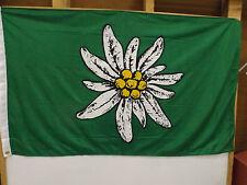 Wehrmacht Fahne Gebirgsjäger Edelweiss Narvik Dietl Flagge Alpen NEU