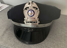 More details for v rare obsolete collectible state of arkansas police patrolman badged cap / hat