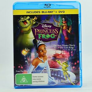 The Princess And The Frog Disney Animation Blu Ray Good Condition