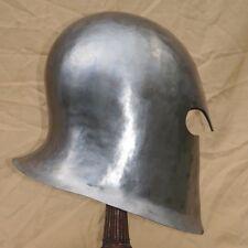 Custom made in America Canada Barbute Medieval Knight armor helmet Rob Valentine