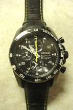 MENS SEIKO SPORTURA CHRONOGRAPH WATCH 7T62-0KV0