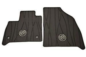 2018-2020 Buick Enclave First-Row Premium All-Weather Floor Mats GM OEM 84162074