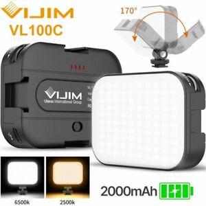 VIJIM VL100C CRI95 2500-6500K Mini LED Video Light For DSLR Camera Photography