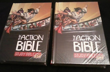 """""""The Action Bible ESV Study Bible"""" (2 New Hardcover Study Bibles with Pictures)"""