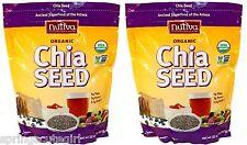 2 x 32 oz Bags Nutiva ORGANIC CHIA SEED Ancient Super food, Total 64 oz