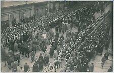 CARTOLINA d'Epoca ROMA - fotografica: FUNERALI REGINA MARGERITA 1926 - Reali