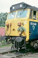 British Rail 50046 Welsh Warrior Railtour 1979 Rail Photo C