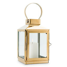 12 Large Gold Lantern Lanterns Wedding Centerpiece Decorations Lot Q27460