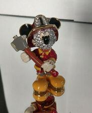 Swarovski Disney Arribas Figur Mickey Maus Feuerwehrmann  Mickey Mouse Fireman