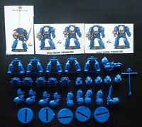 Warhammer 40K Space Marine Terminator Squad of 5 - Games Workshop - Free Shippin