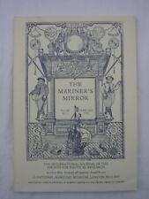 Mariner's Mirror Feb 1982 Athlit Crusades Glorioso