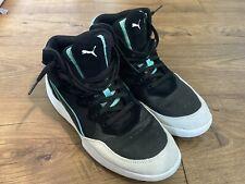 Puma Mens RB Playoff SD Black White Green Basketball Shoes Size 11 SoftFoam+