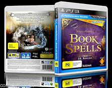 (PS3) Wonderbook: Book Of Spells (PG) (Harry Potter / J.K. Rowling) (PS Move)
