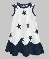 Nwt! Girls Sz 2 - 3 Years A.T.U.N. Adorable Sleeveless Dress Patriotic!