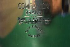 Vintage Companion Max Sievert Sweden Large Blowtorch Soldering Iron Old Tool