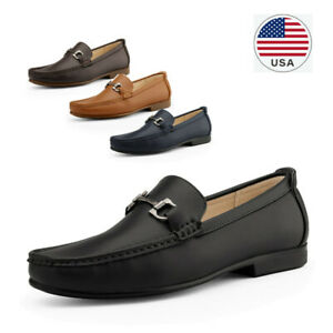 Men's Dress Moccasin Loafers Slip On Casual Driving Loafer Shoes