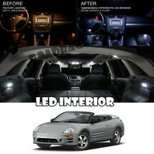 For 99-05 Mitsubishi Eclipse Spyder Interior LED HID Xenon Light Package Qty=12