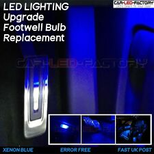 BMW E46 3 Series LED x2 Footwell Bulbs BLUE Interior Lighting Upgrade Error Free
