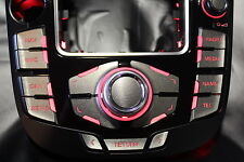 MMI Aufkleber Titan geb. --PFEIL-- für Audi A4/ RS4 8K A5/S5 8T Q5 mmi 2G und 3G