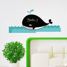 Whale Paper Art Wall Stickers Decal Board Animal Bedroom Living Room Decoration