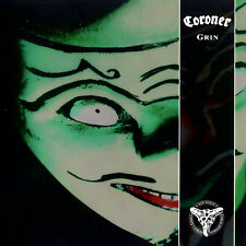 Coroner GRIN 5th Album LIMITED EDITION Remastered NEW GREEN COLORED VINYL 2 LP