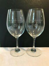 Riedel Set Of 2 Red Wine Glasses Woodbridge Wines Logo - pair