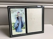 Superb Art Deco style glass photo frame
