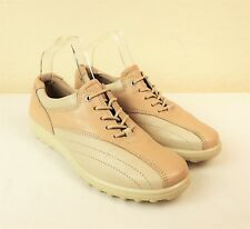 Hotter Tone Sz 5½ 38.5 Lace Up Flat Shoes Low Heel Trainer Comfort Concept Beige