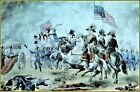 Currier & Ives : The Battle of New Orleans Art Print