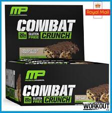 MusclePharm Combat Crunch Protein Bar 12x63g High Protein Gluten Free