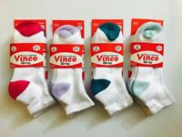 12 Pairs Lot Ladies/Women Ankle/Quarter/Low Cut Cotton Sports Socks 9-11 New