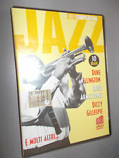 JAZZ VIDEO COMPILATION DVD 30 BRANI ELLINGTON ARMSTRONG GILLESPIE