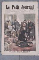 JOURNAL LE PETIT PARISIEN N°738 DIMANCHE 8 JANVIER 1905 ABE