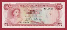 BAHAMAS 1965 3 DOLLARS