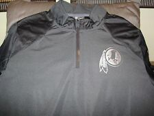 5e5947bd4 NFL Washington Redskins Nike Platinum Fly Rush 1/4 Zip Golf Wind Jacket Mens  2xl
