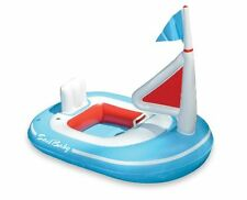 New Baby Sail Boat Pool Inflatable Float Kids Swimming Raft Infant Unisex Fun