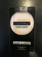 Wet N Wild Coverall Pressed Face Powder .26 Oz Fair 821B Factory Sealed