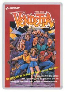 Vendetta Fridge Magnet. Arcade Machine. Retro Gaming Beat Em Up