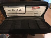Aim Shot Laser Bore Sight Wallet Case Only For major calibers My Rifle