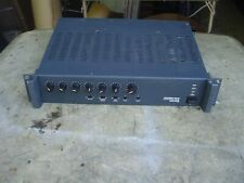 Precedence CMA120 Rack Mount Commercial Mixer Amplifier by biAmp