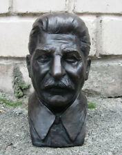 Sculpture Bronze Bust Stalin