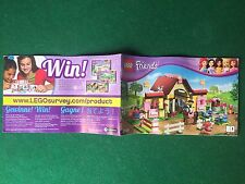 (Q9) LEGO FRIENDS 3189 CATALOGO MONTAGGIO STALLA CAVALLI Brochure KATALOG